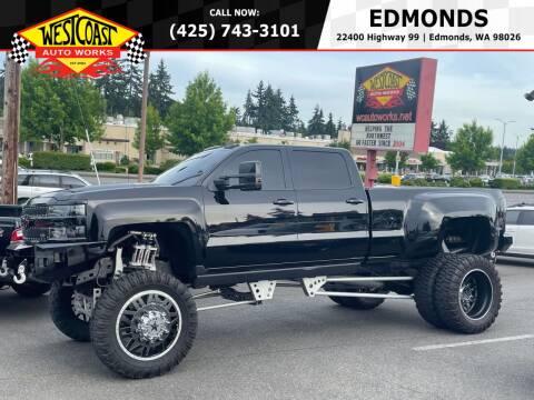 2015 Chevrolet Silverado 3500HD for sale at West Coast Auto Works in Edmonds WA