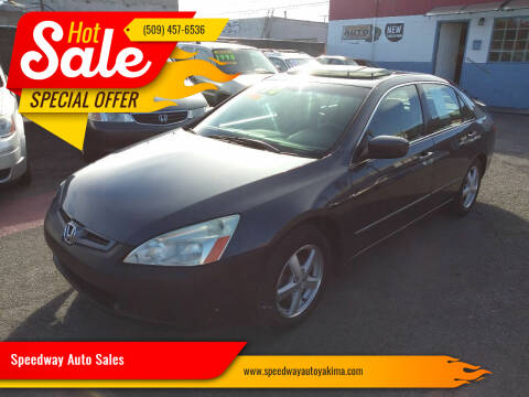 2005 Honda Accord for sale at Speedway Auto Sales in Yakima WA