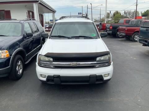 2003 Chevrolet TrailBlazer for sale at Rayyan Auto Sales LLC in Lexington KY