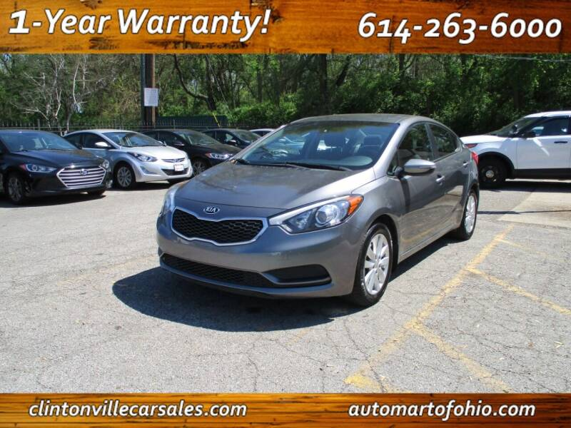 2016 Kia Forte for sale at Clintonville Car Sales - AutoMart of Ohio in Columbus OH