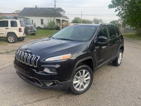 2014 Jeep Cherokee for sale at Simon's Auto Sales in Detroit MI