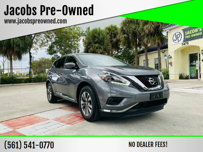 2018 Nissan Murano for sale at Jacobs Pre-Owned in Lake Worth FL