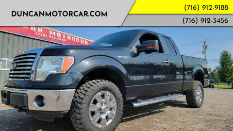 2012 Ford F-150 for sale at DuncanMotorcar.com in Buffalo NY