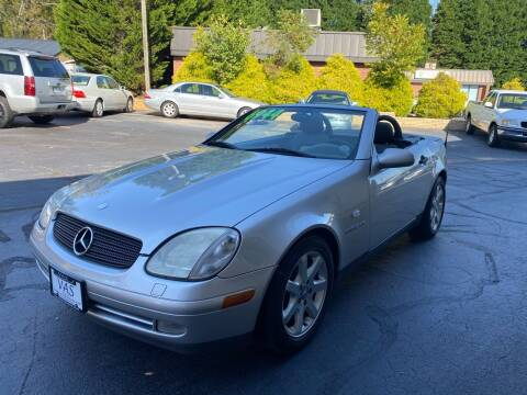 1999 Mercedes-Benz SLK for sale at Viewmont Auto Sales in Hickory NC