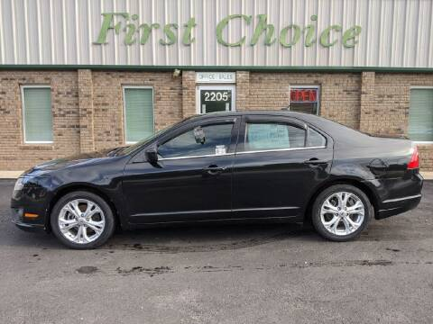 2012 Ford Fusion for sale at First Choice Auto in Greenville SC