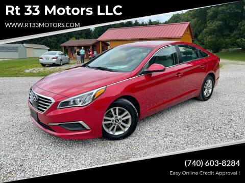 2017 Hyundai Sonata for sale at Rt 33 Motors LLC in Rockbridge OH