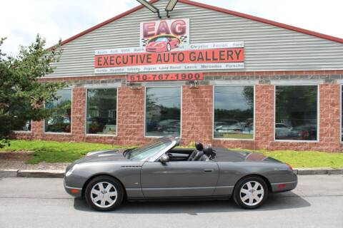 2003 Ford Thunderbird for sale at EXECUTIVE AUTO GALLERY INC in Walnutport PA