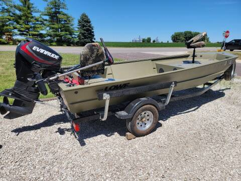 2014 LOWE RoughNeckRX16DT for sale at Tremont Car Connection in Tremont IL