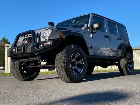 2013 Jeep Wrangler Unlimited for sale at Alexandria Auto Mart LLC in Alexandria PA