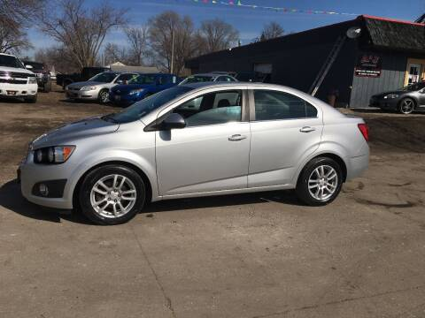 2012 Chevrolet Sonic for sale at A & J AUTO SALES in Eagle Grove IA
