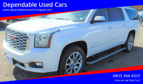 2019 GMC Yukon XL for sale at Dependable Used Cars in Anchorage AK