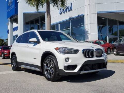 2018 BMW X1 for sale at DORAL HYUNDAI in Doral FL