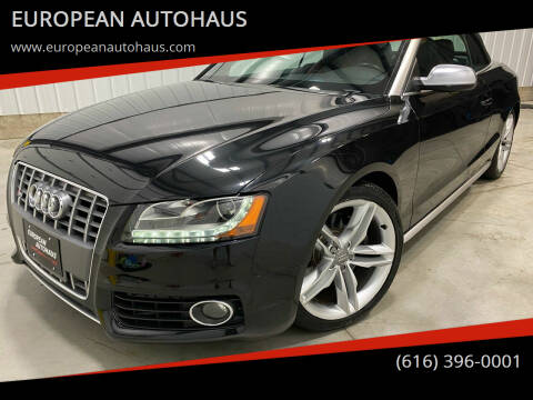 2011 Audi S5 for sale at EUROPEAN AUTOHAUS in Holland MI