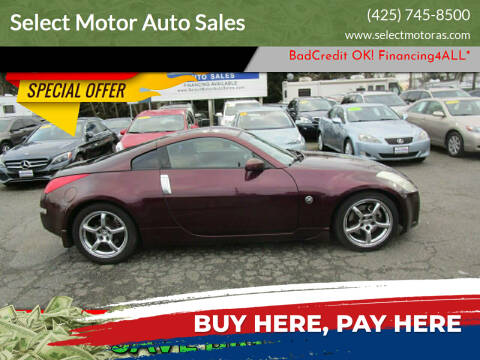 2006 Nissan 350Z for sale at Select Motor Auto Sales in Lynnwood WA