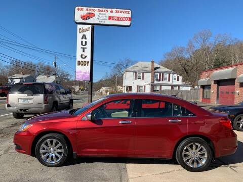 2011 Chrysler 200 for sale at 401 Auto Sales & Service in Smithfield RI