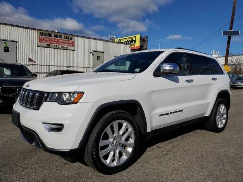 2017 Jeep Grand Cherokee for sale at MENNE AUTO SALES in Hasbrouck Heights NJ
