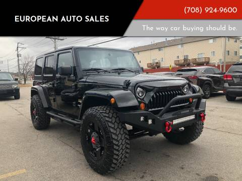 2014 Jeep Wrangler Unlimited for sale at European Auto Sales in Bridgeview IL
