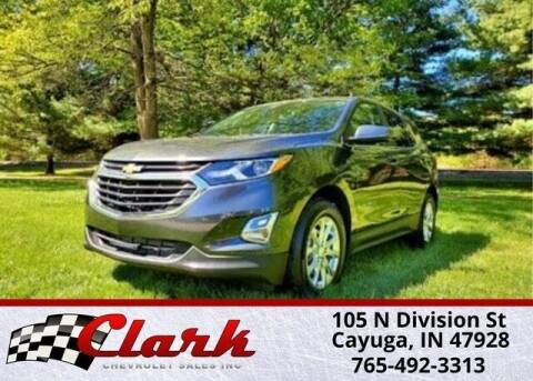 2021 Chevrolet Equinox for sale at Clark Chevrolet in Cayuga IN