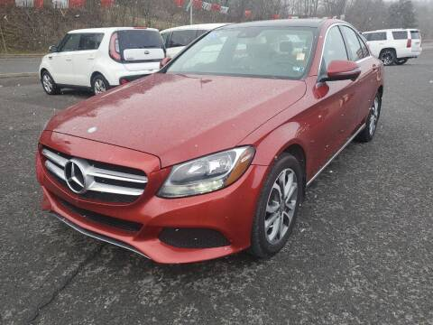2016 Mercedes-Benz C-Class for sale at Mulligan's Auto Exchange LLC in Paxinos PA