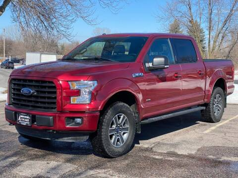2016 Ford F-150 for sale at North Imports LLC in Burnsville MN