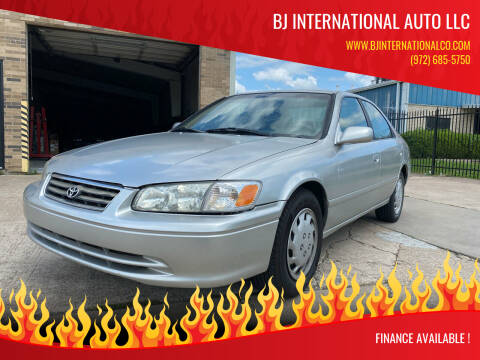 2000 Toyota Camry for sale at BJ International Auto LLC in Dallas TX