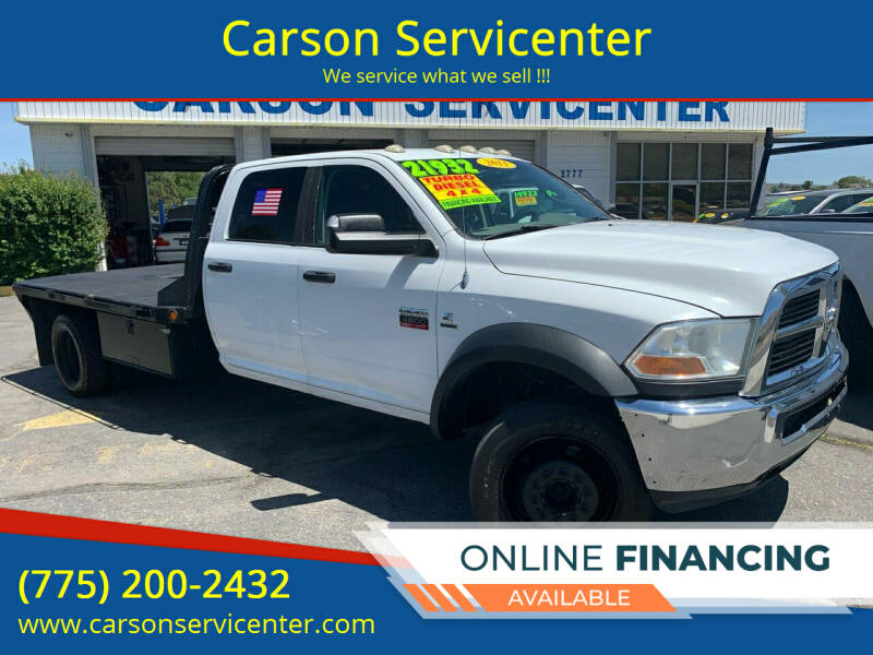 2011 RAM Ram Chassis 4500 for sale at Carson Servicenter in Carson City NV