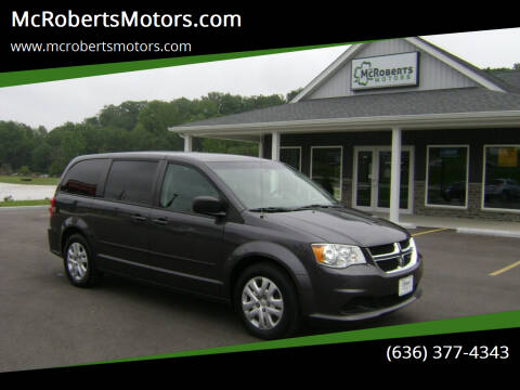 2017 Dodge Grand Caravan for sale at McRobertsMotors.com in Warrenton MO