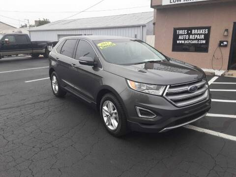 2017 Ford Edge for sale at Used Car Factory Sales & Service Troy in Troy OH