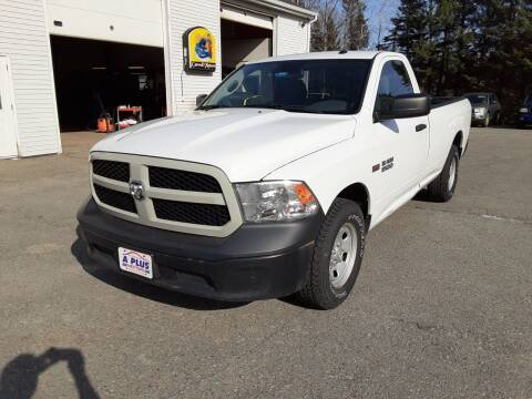 2016 RAM Ram Pickup 1500 for sale at A-Plus Motors in Alton ME