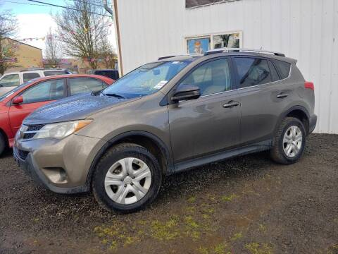 2013 Toyota RAV4 for sale at M AND S CAR SALES LLC in Independence OR
