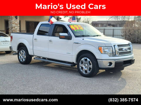 2011 Ford F-150 for sale at Mario's Used Cars - Pasadena Location in Pasadena TX