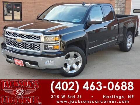 2015 Chevrolet Silverado 1500 for sale at Jacksons Car Corner Inc in Hastings NE
