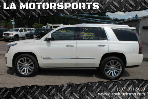 2015 Cadillac Escalade for sale at LA MOTORSPORTS in Windom MN