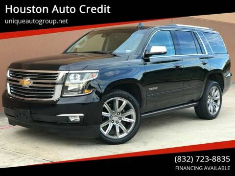 2016 Chevrolet Tahoe for sale at Houston Auto Credit in Houston TX