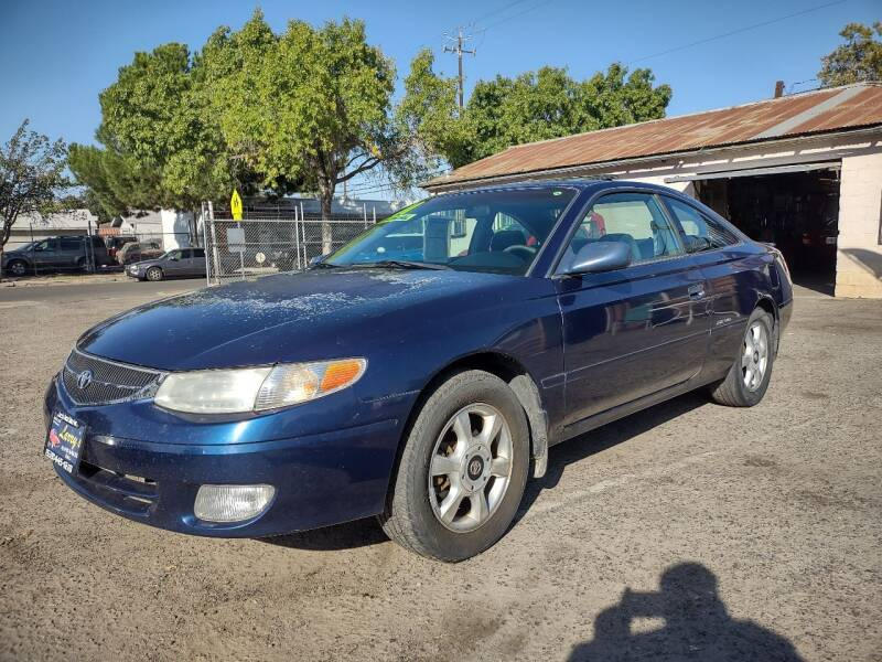 2001 Toyota Camry Solara for sale at Larry's Auto Sales Inc. in Fresno CA