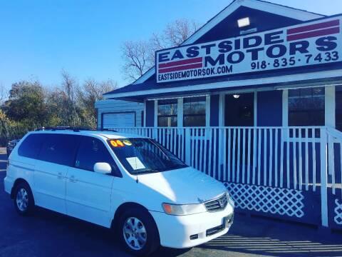 2004 Honda Odyssey for sale at EASTSIDE MOTORS in Tulsa OK