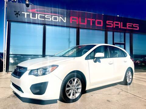 2012 Subaru Impreza for sale at Tucson Auto Sales in Tucson AZ