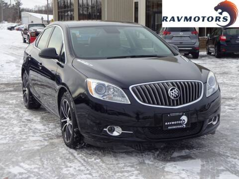 2016 Buick Verano for sale at RAVMOTORS 2 in Crystal MN