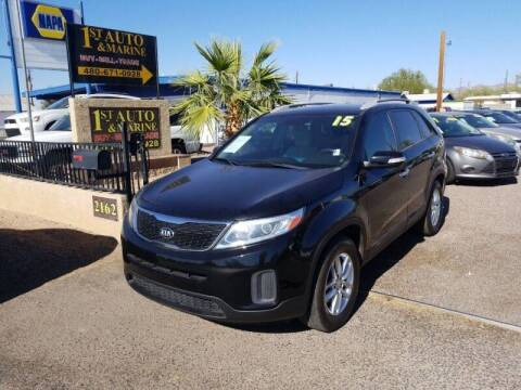 2015 Kia Sorento for sale at 1ST AUTO & MARINE in Apache Junction AZ