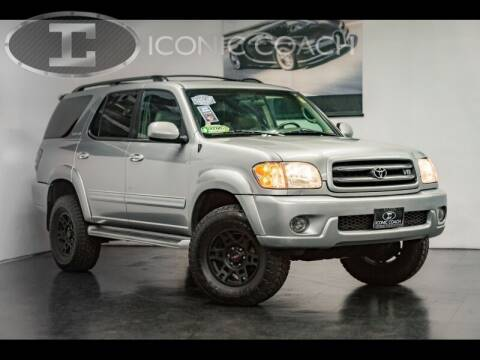 2002 Toyota Sequoia for sale at Iconic Coach in San Diego CA