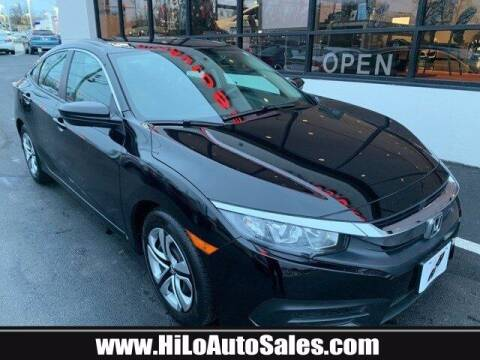 2017 Honda Civic for sale at Hi-Lo Auto Sales in Frederick MD