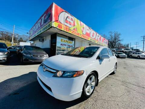 2006 Honda Civic for sale at EXPORT AUTO SALES, INC. in Nashville TN
