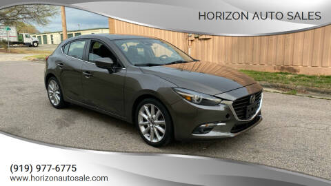 2017 Mazda MAZDA3 for sale at Horizon Auto Sales in Raleigh NC
