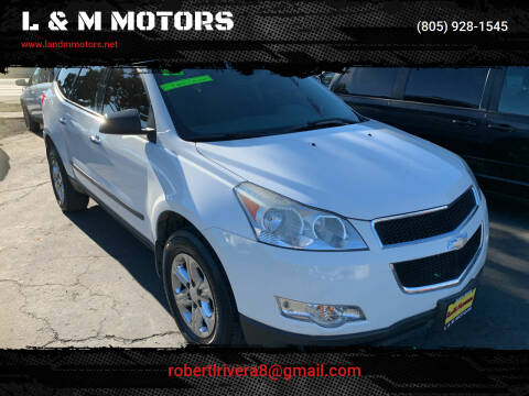 2012 Chevrolet Traverse for sale at L & M MOTORS in Santa Maria CA