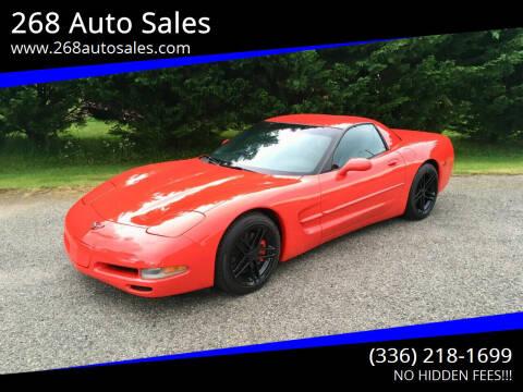 1999 Chevrolet Corvette for sale at 268 Auto Sales in Dobson NC