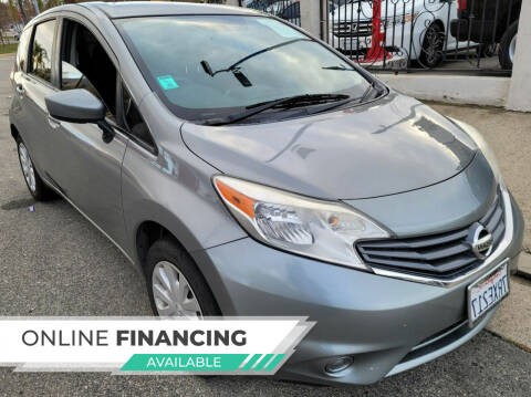 2015 Nissan Versa Note for sale at ZOOM CARS LLC in Sylmar CA