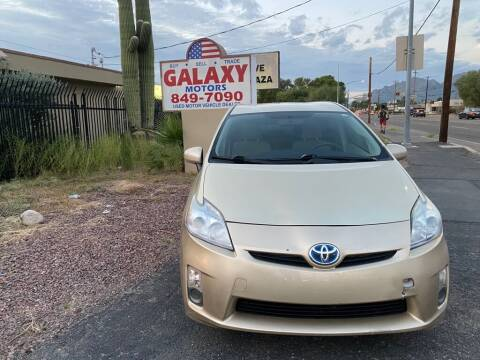 2011 Toyota Prius for sale at GALAXY MOTORS in Tucson AZ