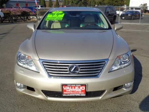 2011 Lexus LS 460 for sale at Vallejo Motors in Vallejo CA