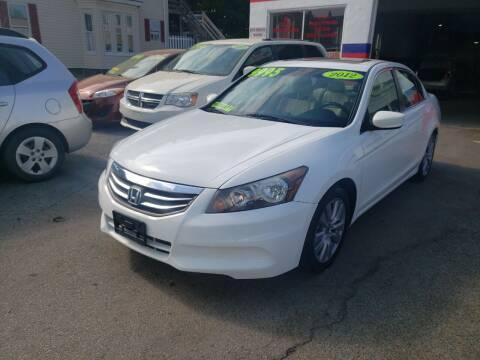 2012 Honda Accord for sale at TC Auto Repair and Sales Inc in Abington MA