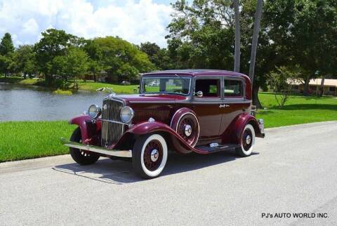1933 Nash Big Six for sale at P J'S AUTO WORLD-CLASSICS in Clearwater FL